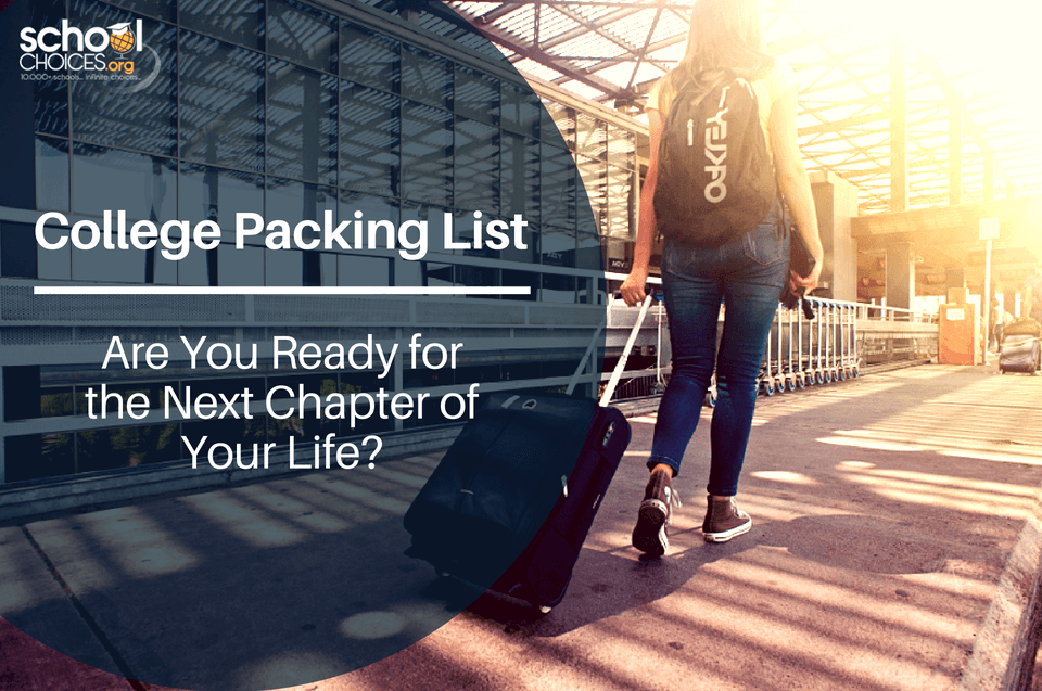 College Packing List - Are You Ready for the Next Chapter of Your Life